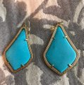 Kendra Scott turquoise drop earrings Image 1