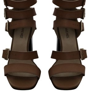 Nine West tan/light cognac Sandals