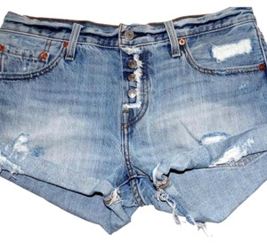 Levi's Cut Off Shorts Denim