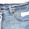 Levi's Cut Off Shorts Denim Image 1