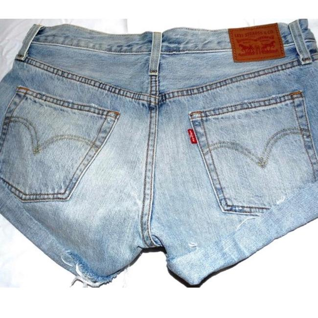 Levi's Cut Off Shorts Denim Image 2