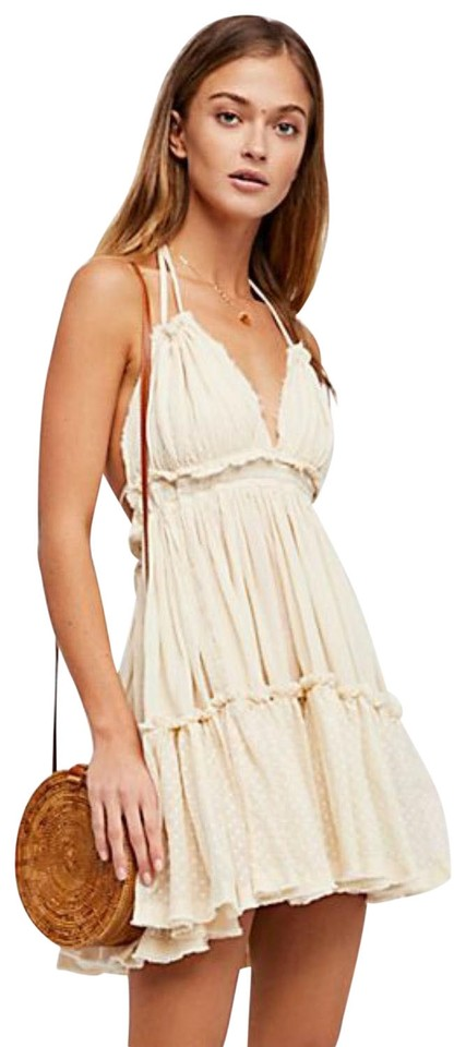 0d94de8093 Free People Tan 100 Degree Short Night Out Dress Size 8 (M) - Tradesy