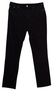 Brooks Brothers Corduroy Caroline Fit Casual Straight Pants Black