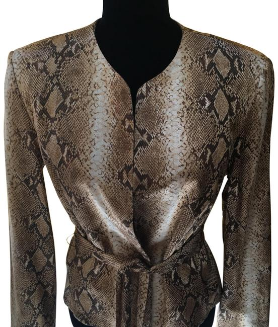 Preload https://img-static.tradesy.com/item/24260301/cache-champagne-brown-jacket-satin-belted-snake-blazer-size-12-l-0-3-650-650.jpg