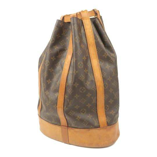 Louis Vuitton Leather Luxury Vintage Monogram European Backpack Image 10