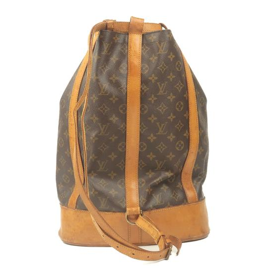 Louis Vuitton Leather Luxury Vintage Monogram European Backpack Image 4