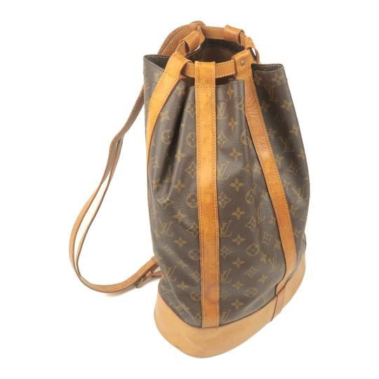 Louis Vuitton Leather Luxury Vintage Monogram European Backpack Image 5