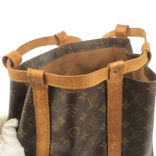 Louis Vuitton Leather Luxury Vintage Monogram European Backpack Image 6