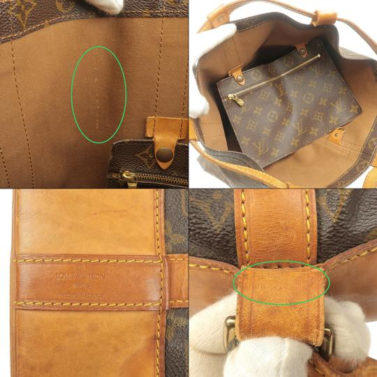 Louis Vuitton Leather Luxury Vintage Monogram European Backpack Image 8