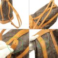 Louis Vuitton Leather Luxury Vintage Monogram European Backpack Image 9