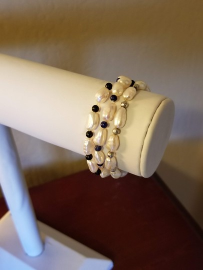 Unknown Set of 3 Freshwater Pearl Bracelets Image 3
