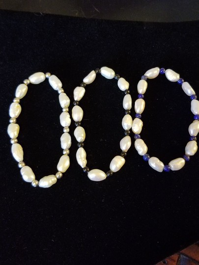 Unknown Set of 3 Freshwater Pearl Bracelets Image 4