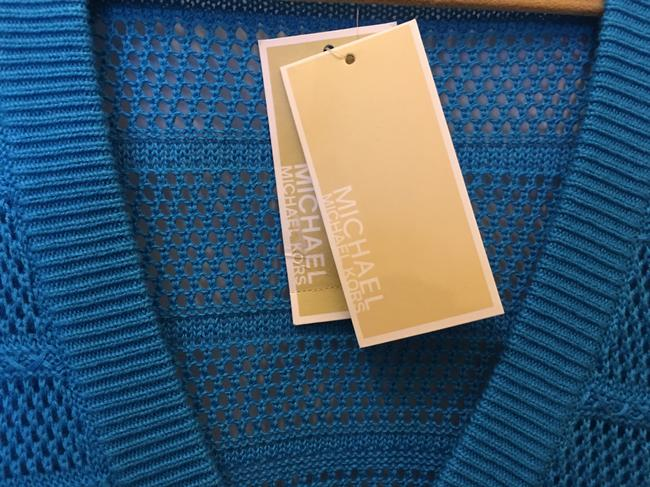 Michael Kors Cotton Blend V-neck New With Tags Sweater Image 2