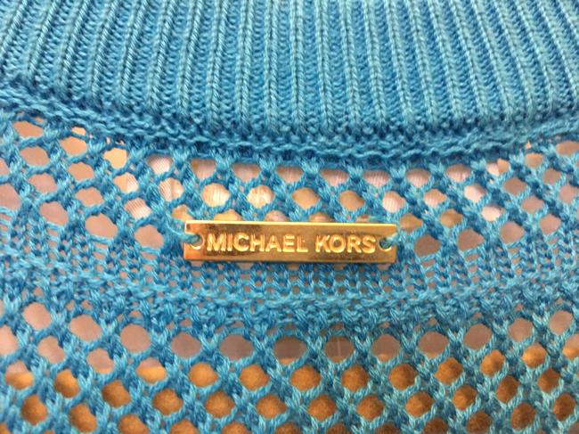 Michael Kors Cotton Blend V-neck New With Tags Sweater Image 4
