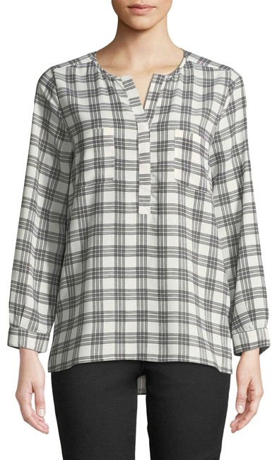 Joie Checkered Top Image 0