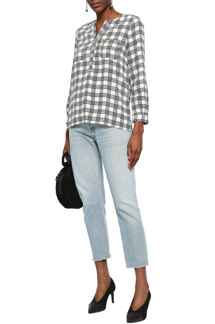 Joie Checkered Top Image 3