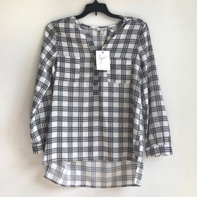 Joie Checkered Top Image 5