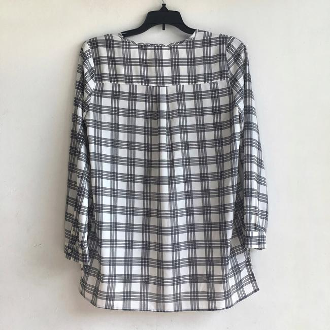 Joie Checkered Top Image 6