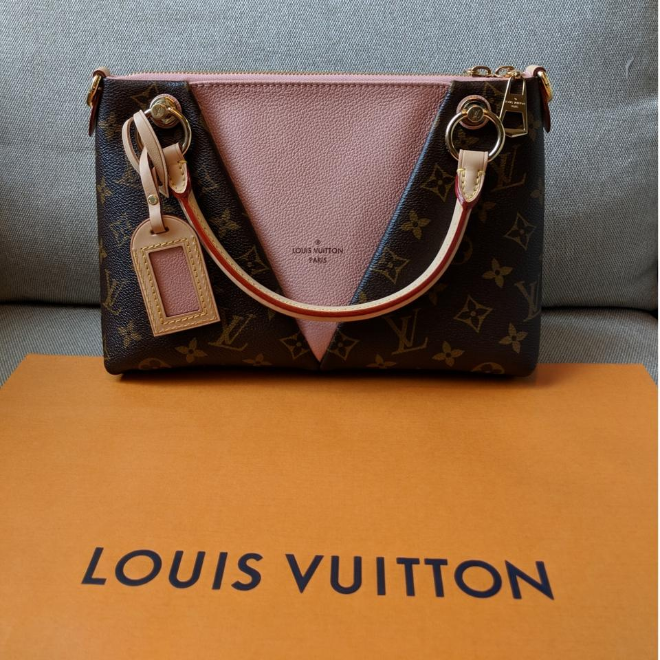 5b7bee02a17e1 Louis Vuitton V Poudre Pink Leather Tote - Tradesy