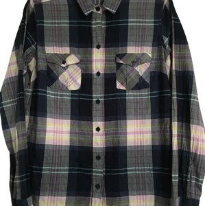 Eddie Bauer Button Down Shirt Navy