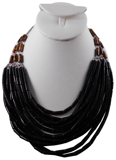 Preload https://img-static.tradesy.com/item/24260726/lia-sophia-black-and-brown-multi-layered-havananecklace-necklace-0-3-540-540.jpg