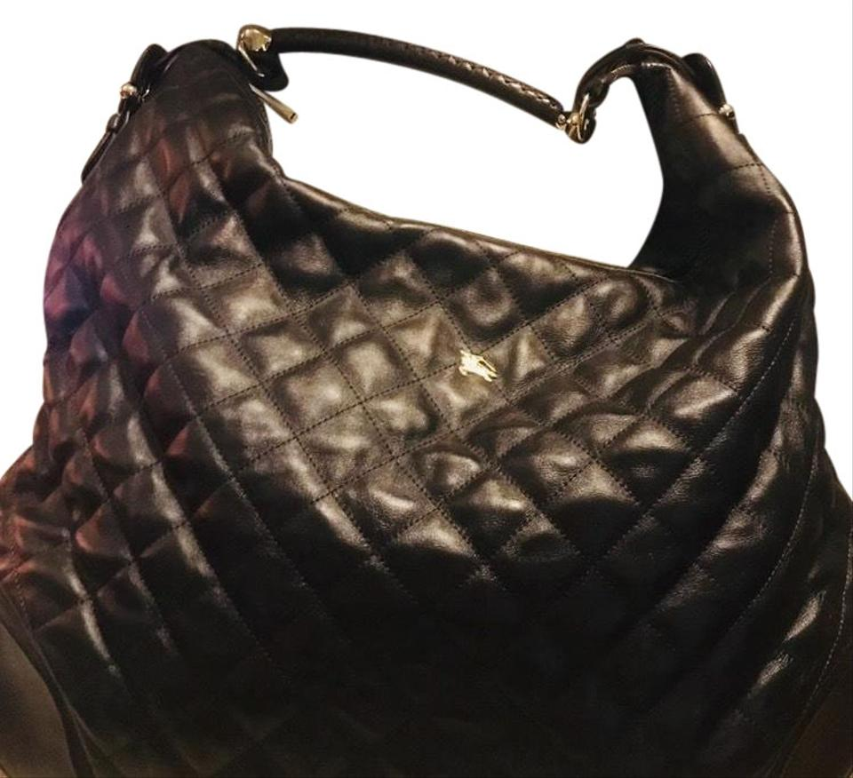 Burberry Quilted Bql Large Hoxton Dark Brown Leather Hobo Bag - Tradesy ff524da27f947