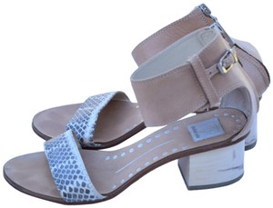 Dolce Vita cream & gray Sandals