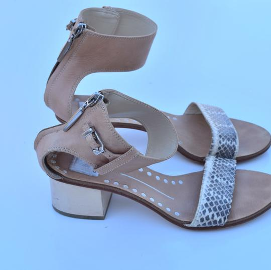 Dolce Vita cream & gray Sandals Image 2