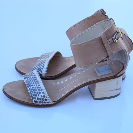 Dolce Vita cream & gray Sandals Image 5