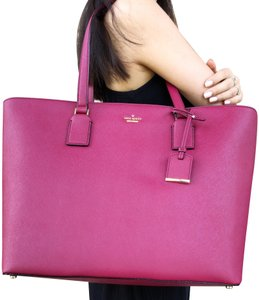 Kate Spade Cameron Street Harmony New With Tags Tote in Burgundy
