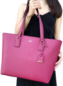 Kate Spade Cameron Street Harmony New With Tag Tote in burgundy