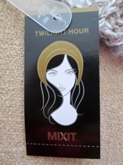 MIXIT Two NWT Women's Knit Tams W/Sequins MIXIT Ivory & Black Image 3