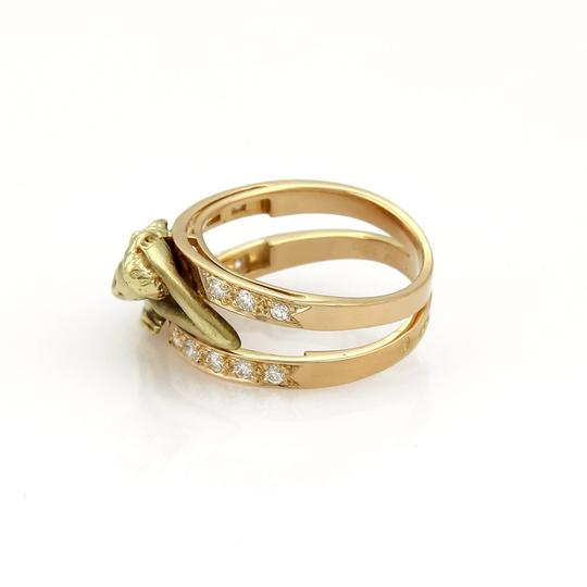 Carrera y Carrera Carrera y Carrera Diamond 18k Two Tone Gold Carved Woman Image 2