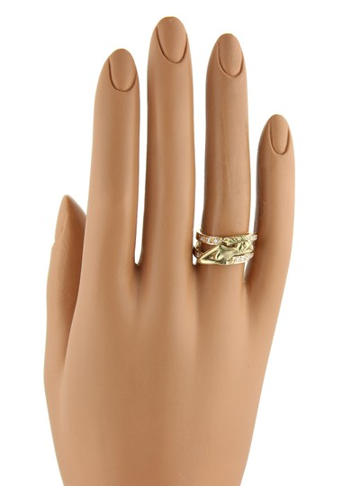 Carrera y Carrera Carrera y Carrera Diamond 18k Two Tone Gold Carved Woman Image 5