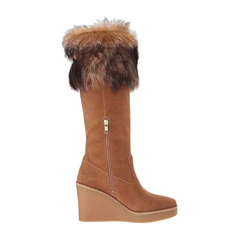 f0595df8890a UGG Australia Chestnut Valberg Tall Wedge Boots Booties Size US 7.5 Regular  (M