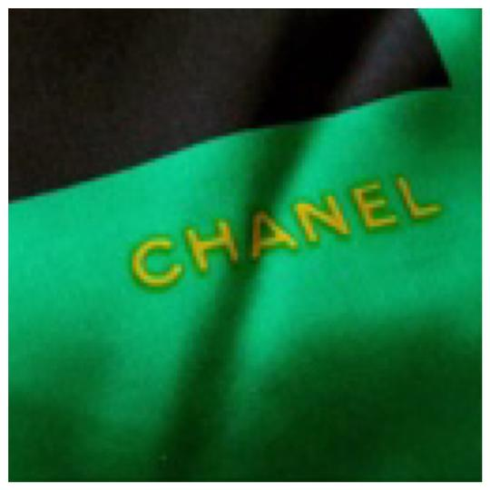 Chanel Authentic CHANEL Vintage Classic Flap Bag Silk Scarf Image 6