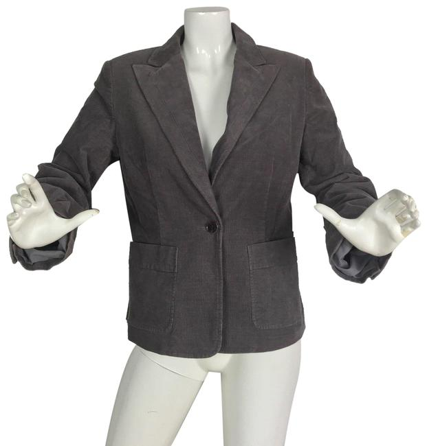 Preload https://img-static.tradesy.com/item/24260981/club-monaco-brown-jacket-corduroy-cotton-women-blazer-size-10-m-0-3-650-650.jpg