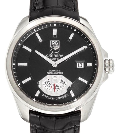 Preload https://img-static.tradesy.com/item/24260983/tag-heuer-stainless-steel-with-black-dial-grand-carrera-calibre-6-watch-0-3-540-540.jpg