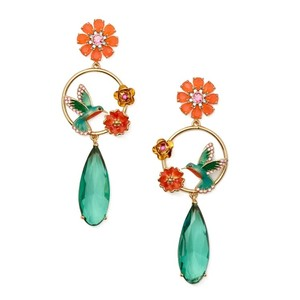 Kate Spade Kate Spade Scenic Route Hummingbird Drop Earrings