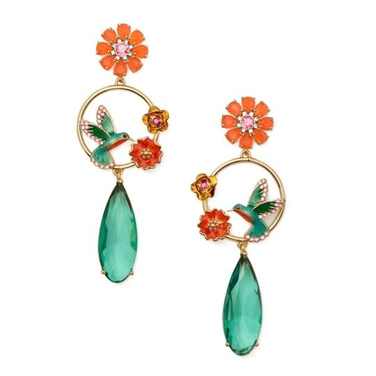 Preload https://img-static.tradesy.com/item/24260993/kate-spade-orangegold-scenic-route-hummingbird-drop-earrings-0-0-540-540.jpg