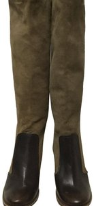 BCBGeneration olive green/ Brown Boots