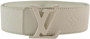 Louis Vuitton Louis Vuitton Virgil Abloh SS19 40mm Monogram LV Logo Leather Belt 95