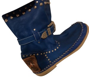 Hector Boots royal blue Boots