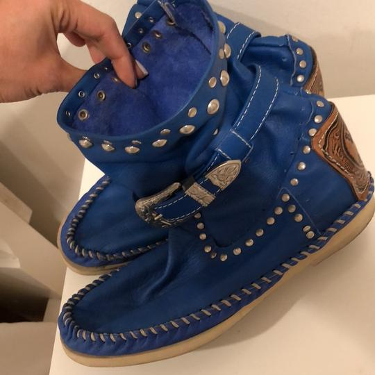 Hector Boots royal blue Boots Image 2