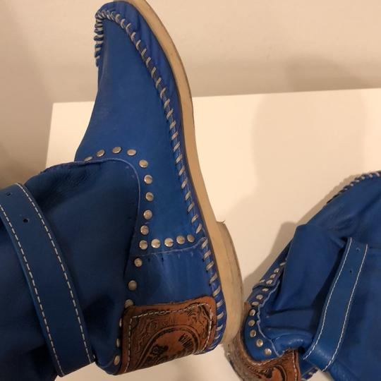 Hector Boots royal blue Boots Image 7