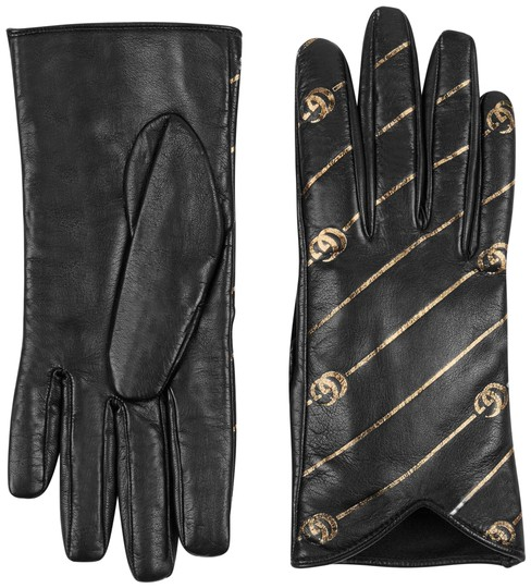 Preload https://img-static.tradesy.com/item/24261385/gucci-black-leather-gloves-with-double-g-strip-size-75-scarfwrap-0-3-540-540.jpg