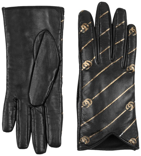 Preload https://img-static.tradesy.com/item/24261390/gucci-black-leather-gloves-with-double-g-strip-size-8-scarfwrap-0-1-540-540.jpg