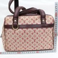 Louis Vuitton Belem Speedy Boston Marie Kate Satchel in Burgundy Image 4