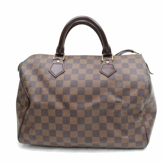Preload https://img-static.tradesy.com/item/24261480/louis-vuitton-speedy-damier-ebene-30-868448-brown-coated-canvas-satchel-0-0-540-540.jpg