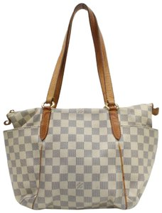 Louis Vuitton Zip Neverfull Lena Iena All-in Tote in White